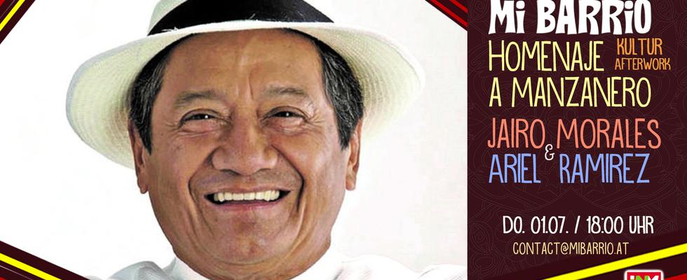 KulturAfterwork: HOMENAJE A ARMANDO MANZANERO mit Jairo Morales feat. Ariel Ramírez
