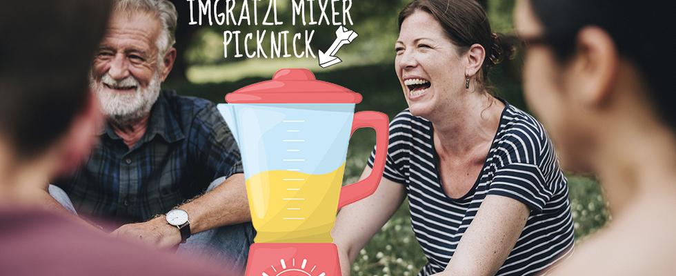 imGrätzl Mixer Picknick im Prater