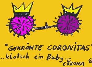"""""""Klatsch ein Baby"""" Fr. 2.07. 18-19h   Fr. 6.08.18-19 h Max-Winter-Platz 23,1020."""