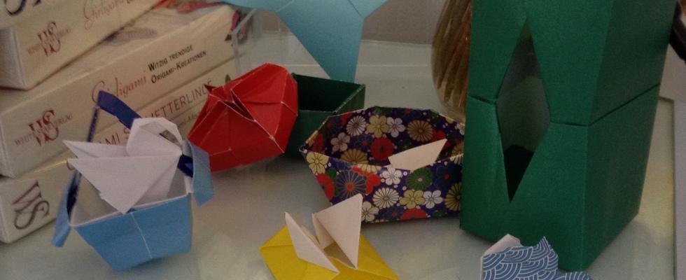 Im Werkbuchcafé: Origami Workshop – Schachteln falten