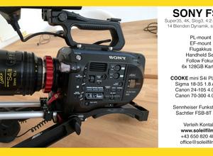 Sony FS7 4K professionelle Kamera