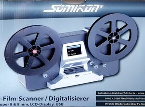 SUPER 8 - NORMAL 8 Scanner , SOMIKON HD Filmscanner