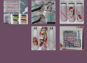 Claudias individuelle Geschenks- und Dekoartikel