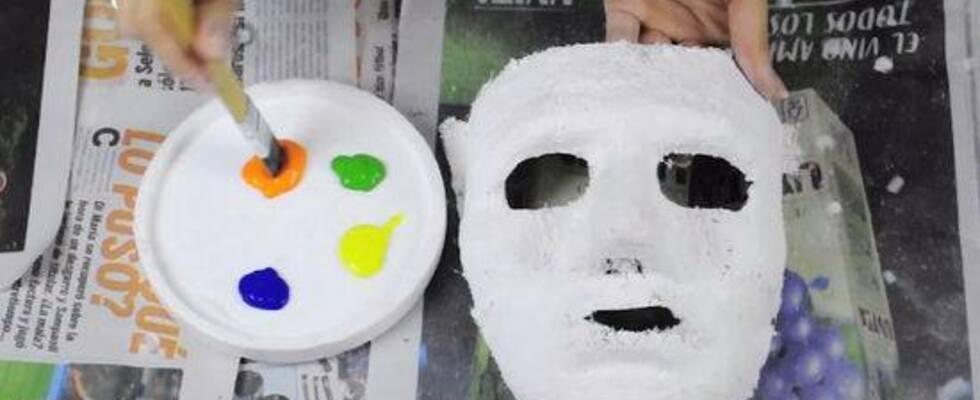 """""""Ein Blick hinter die Maske"""" -  Kreativabend zur Selbsterfahrung  mit Barbara Loibnegger"""