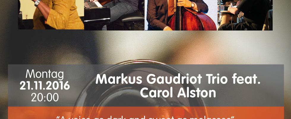 Markus Gaudriot Trio feat. Carol Alston