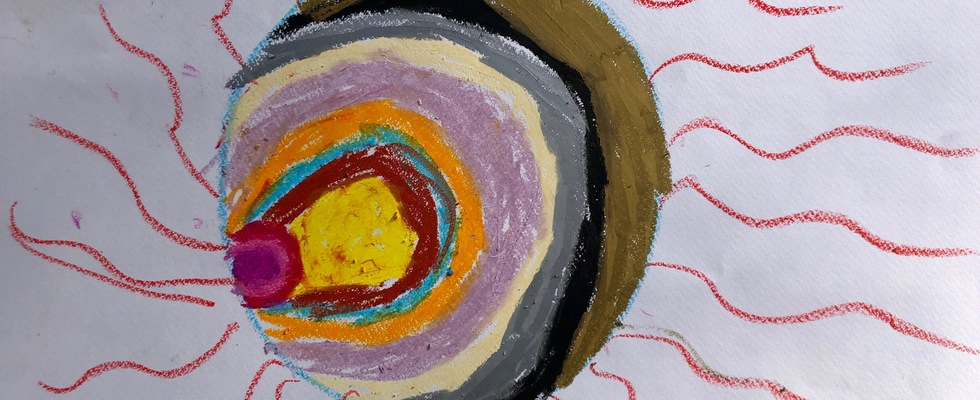 Kunsttherapie - online: geht das denn?