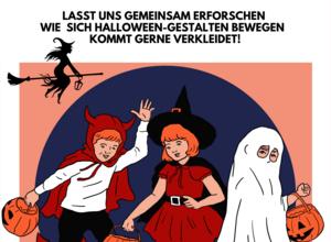 Spooky Dancers - bewegter Halloween
