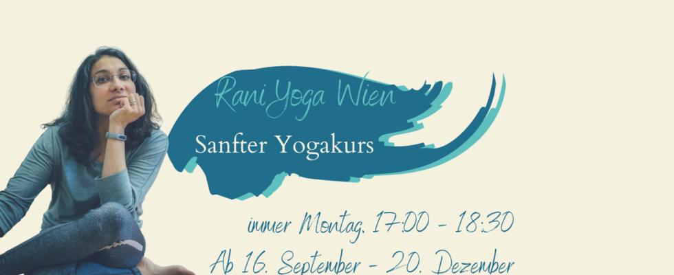 Rani Yoga sanft  - Life im Studio und  & Online via Zoom