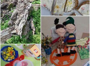 Kreativer Wildkräuterspaziergang für Kinder ab 4 Jahren