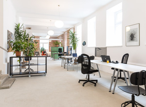 Coworkingspace  im 10. Bezirk / Sonnwendviertel – für Workshops, Coworking, Events