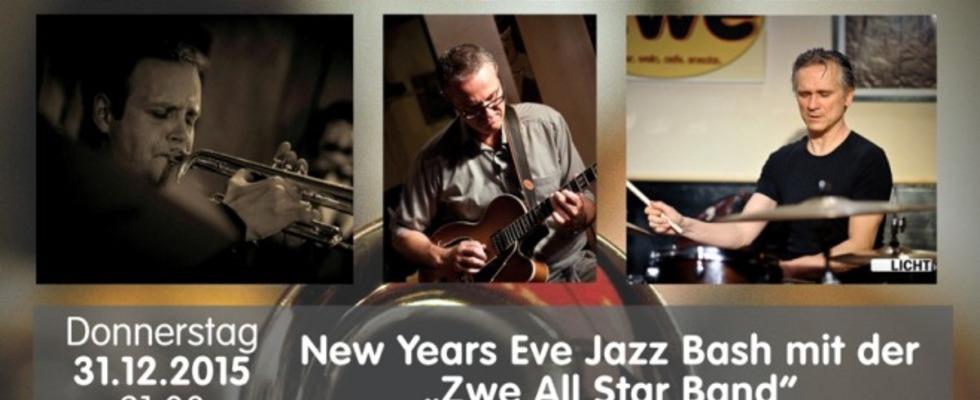 """New Years Eve Jazz Bash mit der """"Zwe all Star Band"""""""