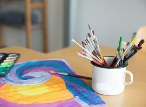 Was ist Kunsttherapie? Kostenloser online-Workshop