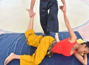 Thai Yoga Massage Kurs Level 1 - Zertifikate aus Thailand