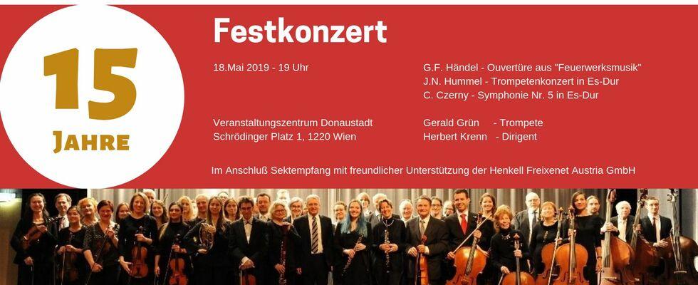 Festkonzert 15 Jahre Concentus21