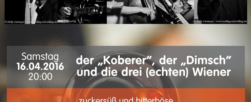 """der """"Koberer"""", der """"Dimsch"""" und die drei (echten) Wiener"""