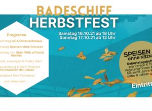 Badeschiff Herbstfest