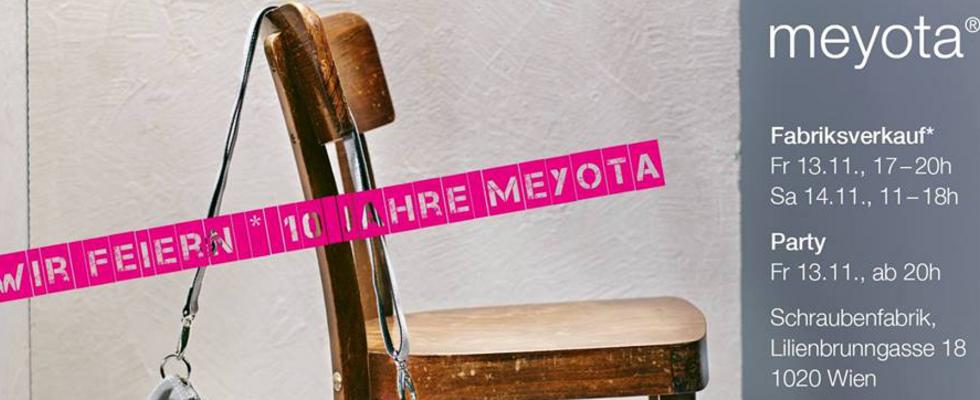 10 Jahre meyota - das gehört gefeiert!