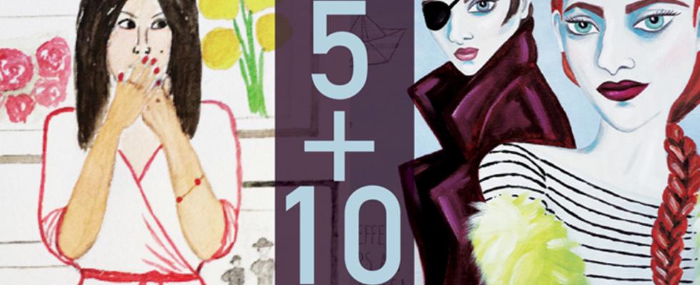 Vernissage - Ausstellung 5 + 10