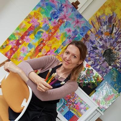 Gruppenraum zum Malen und kreativen Gestalten
