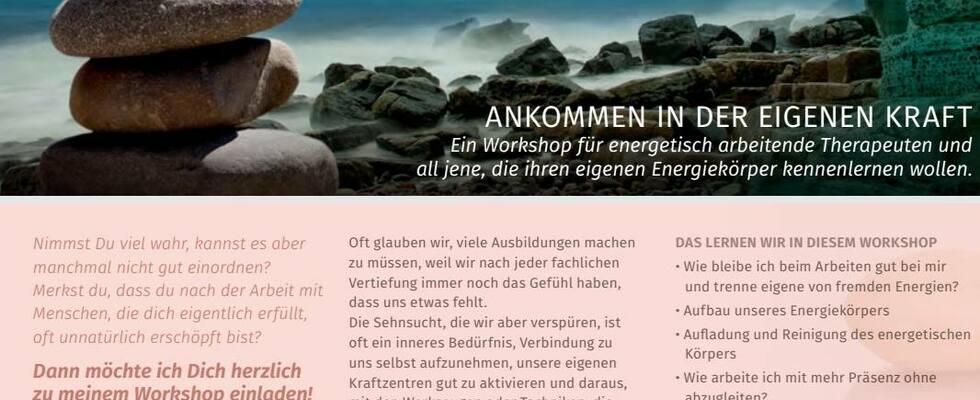 Energie- Körper- Arbeit