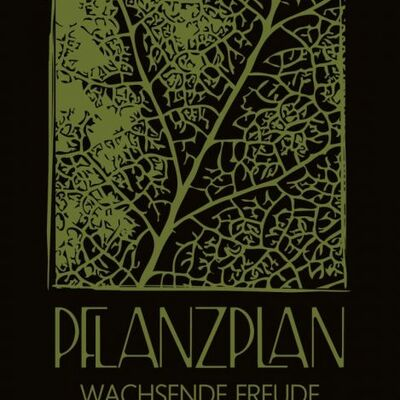 Pflanzplan Gartengestaltung