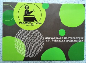 read!!ing room - Raum für (Alltags)kultur