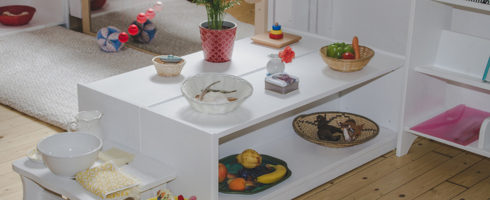 Spielgruppe - Montessori Kleinkind Gruppe (20. - 36. Monate)