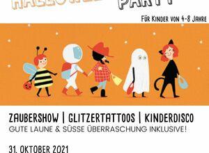 Halloween Party für Kinder   Zaubershow, Glitzertattoos &  Kinderdisco