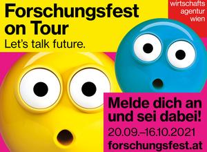 Das Wiener Forschungsfest am Kempelenpark 20.09.21-02.10.21