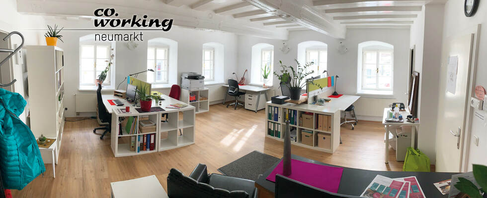 Dein Platz im Co.Working Neumarkt