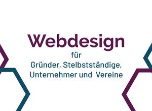 Webdesign für GRÜNDER, SELBSTSTÄNDIGE, UNTERNEHMER UND VEREINE