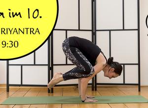 Hatha Yoga kompakt! Jeden Mittwoch 19:30 Uhr