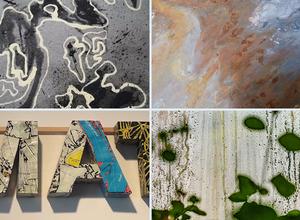 """Vernissage: """"Wasserwerke"""" der Gruppe Kunst 10"""