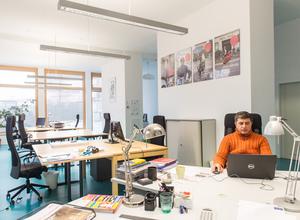 Coworking-Space im gemeinnützigen Wohnprojekt Seestern