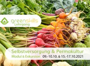 greenskills Lehrgang zur Permakultur & Selbstversorgung