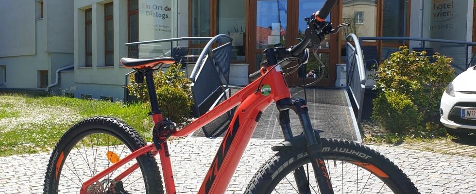 e-Bikes zu vermieten (Mountain-e-Bikes)