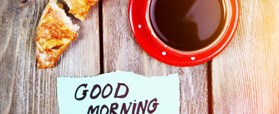 Frühstück und Coaching